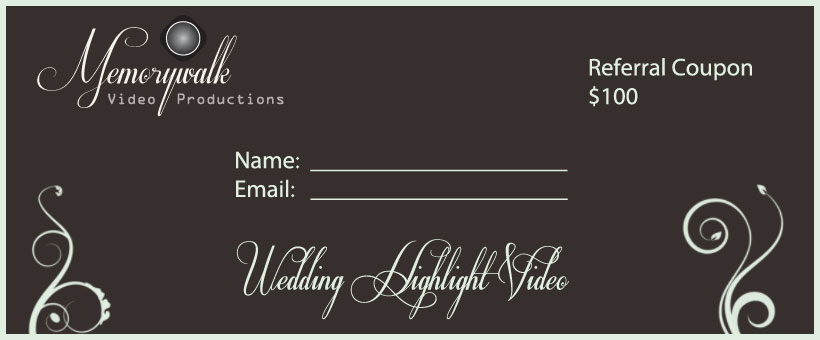 Wedding Videography referral